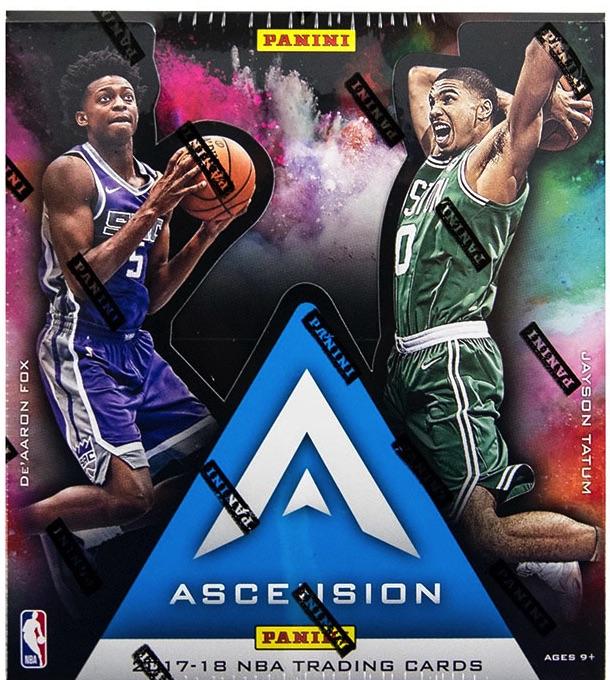 aac68210db9 2017-18 Panini Ascension Basketball Hobby Box